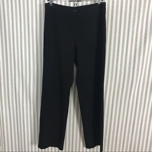 Eileen Fisher Black Stretch Pants